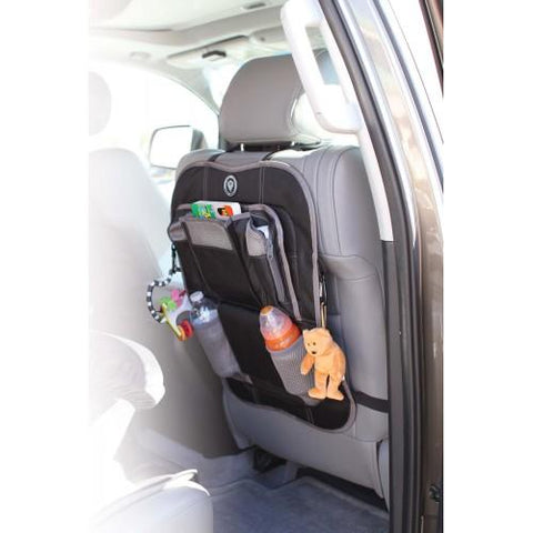 Back Seat Organiser  Black - Hushabyebaby.co.uk