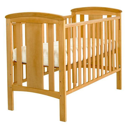 East Coast Nursery Katie Dropside Cot - Beech - Hushabyebaby.co.uk