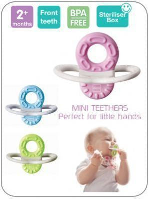 MAM Bite and Relax Teether 2+ months - Hushabyebaby.co.uk