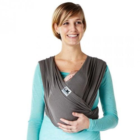 Baby K'Tan Breeze Mesh Carrier - Charcoal - Large Size - Hushabyebaby.co.uk