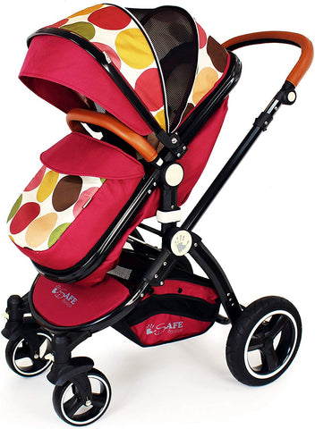 2 in 1 iSafe Pram System - C&M (Limited Edition) - Hushabyebaby.co.uk
