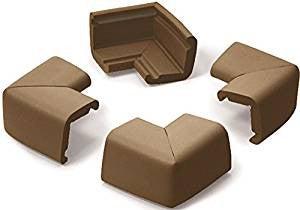 Jumbo Corner Guards Chocolate - Hushabyebaby.co.uk