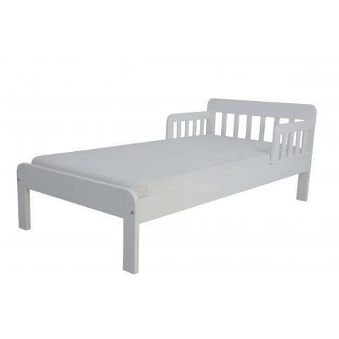 East Coast Nursery Dakota Toddler Bed  - White - Hushabyebaby.co.uk