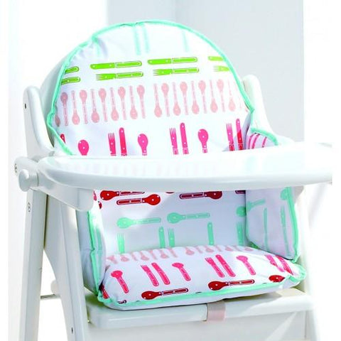 East Coast Nursery Highchair Insert Cushion Dinnertime - Hushabyebaby.co.uk