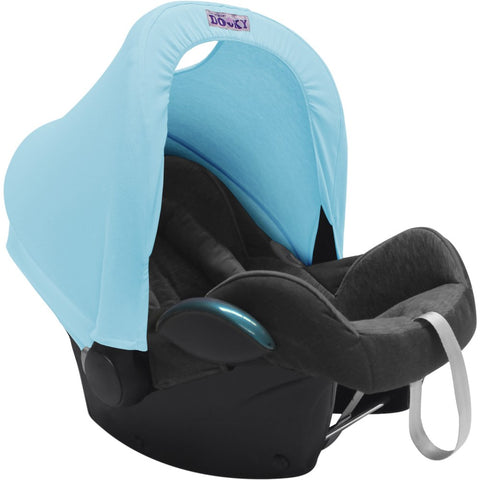 Dooky Hoody Replacement Infant Car Seat Hood Baby Blue - Hushabyebaby.co.uk