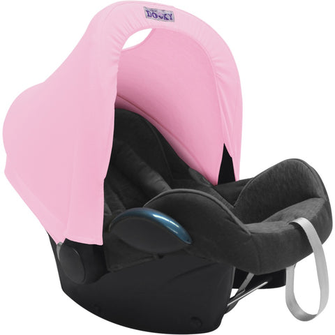 Dooky Hoody Replacement Infant Car Seat Hood Baby Pink - Hushabyebaby.co.uk