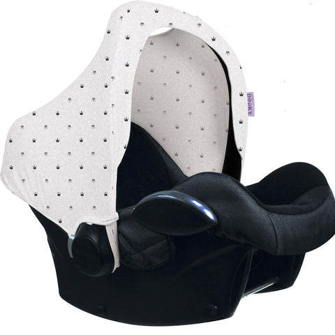 Dooky Hoody Replacement Infant Car Seat Hood Crowns - Hushabyebaby.co.uk