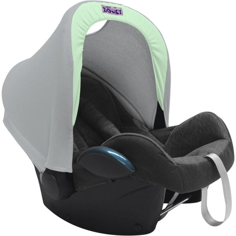Dooky Hoody Replacement Infant Car Seat Hood Mint Grey - Hushabyebaby.co.uk