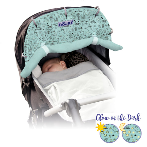 Dooky Shade Little Princess - Glow in the Dark - hushabyebaby-co-uk