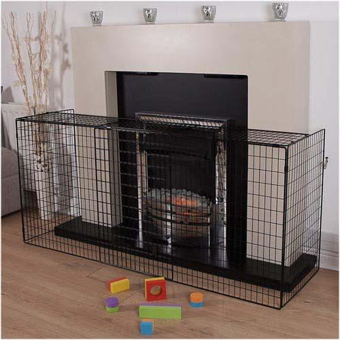 Extendable Fire Guard - New Design by Clippasafe - Hushabyebaby.co.uk