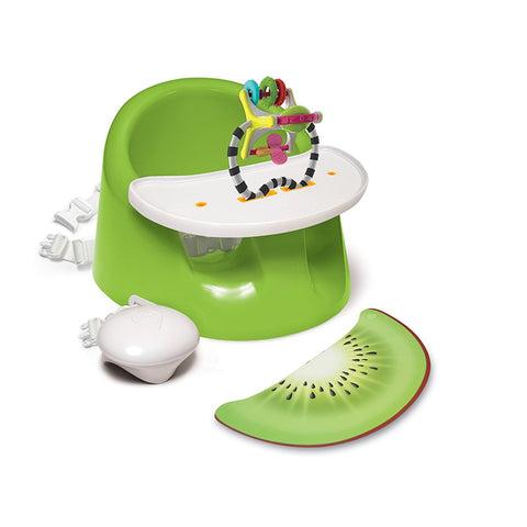 Bebe Pod Flex Plus with tray  (with straps)  Green - Hushabyebaby.co.uk