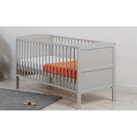 East Coast Nursery Cotbed Hudson Grey - Hushabyebaby.co.uk