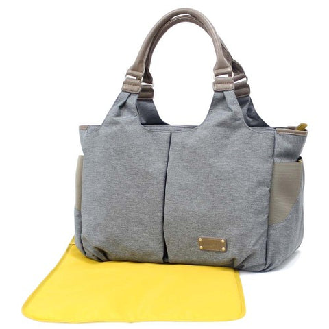 KOO-DI CHANGING BAG LOTTIE GRANITE - Hushabyebaby.co.uk