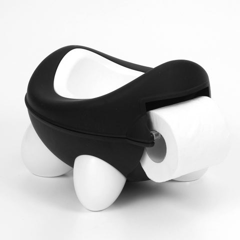 Kids Kit - Baby Bug Potty Black and White - hushabyebaby-co-uk