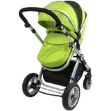 2 in 1 iSafe Pram System - Lime - Hushabyebaby.co.uk