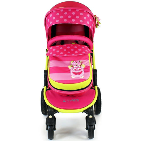 2 in 1 iSafe Pram System - Mea Lux (Limited Edition) - Hushabyebaby.co.uk