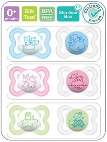 MAM 0+ Month Soother AIR x 2 ASSORTED - hushabyebaby-co-uk.myshopify.com