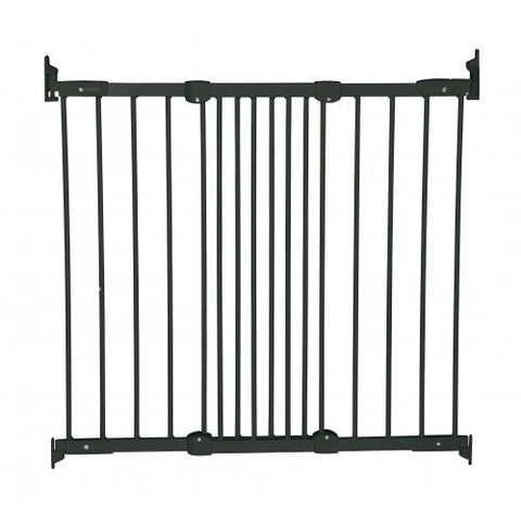 Flexifit Metal Gate - Black by Baby Dan - hushabyebaby-co-uk.myshopify.com
