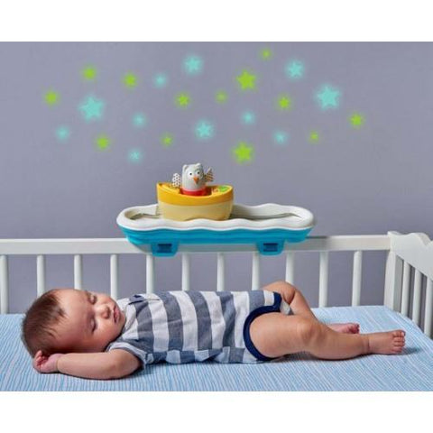 Musical Boat Cot Mobile by Taf Toys - hushabyebaby-co-uk
