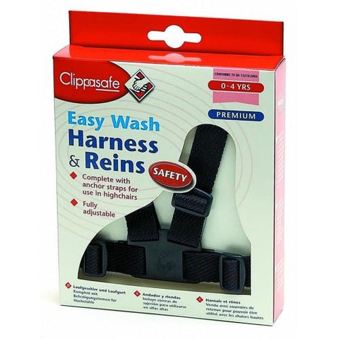 Clippasafe Harness and Reins - Navy Easy Wash - Hushabyebaby.co.uk