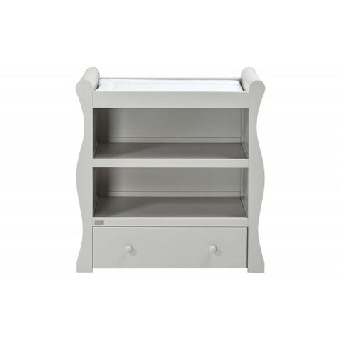 EAST COAST NURSERY DRESSER NEBRASKA GREY / WHITE - Hushabyebaby.co.uk