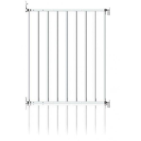 Extendable No Trip Gate - Metal by Clippasafe - Hushabyebaby.co.uk