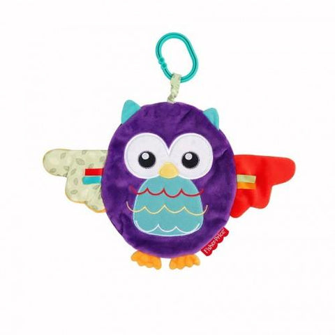 Peek a Boo Blankie Owl by Fisher Price - Hushabyebaby.co.uk