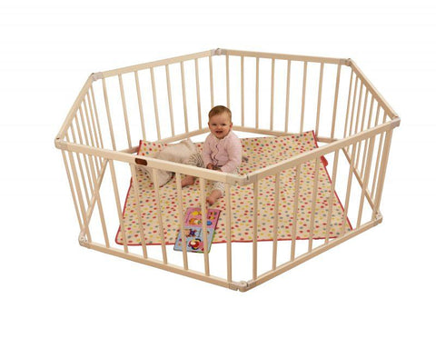 Little Boxx Playpen Hex - White - Hushabyebaby.co.uk