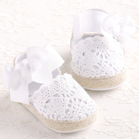Baby Girl Newborn Shoes - Hushabyebaby.co.uk