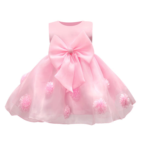 New Hot Selling Beautiful Baby Girl Dress (12-24 months) - hushabyebaby-co-uk