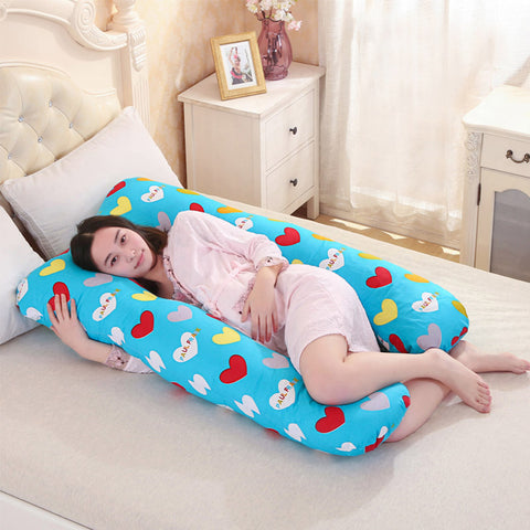 Comfortable U Shape Maternity Pillow - hushabyebaby-co-uk