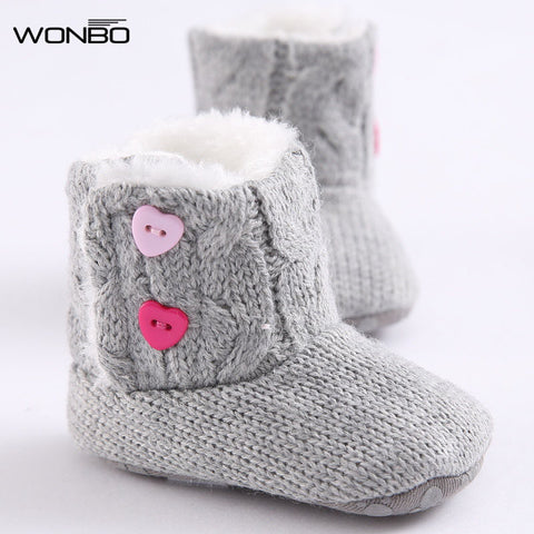 New Winter Super Warm Newborn Baby Girl Pre-walker Boots - Hushabyebaby.co.uk