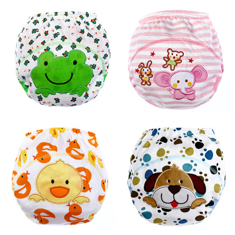 One Piece  Baby  Reusable Toilet  Training Pants in Animal Print - Hushabyebaby.co.uk