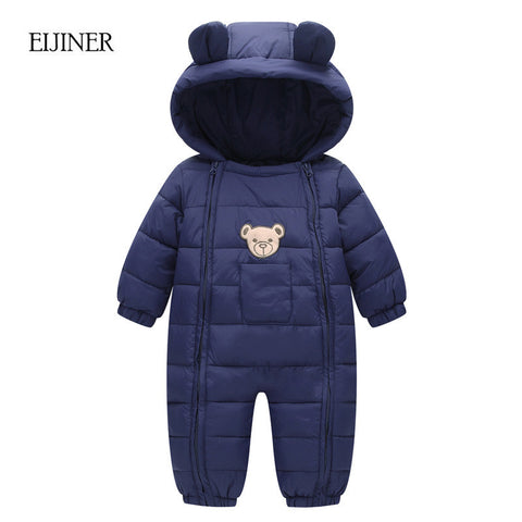 Winter Baby Rompers for Boys and Girls (6-18 months) - hushabyebaby-co-uk