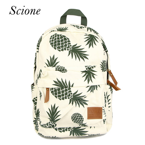 Backpack Pineapple School Bags For Teenager Girls - hushabyebaby-co-uk