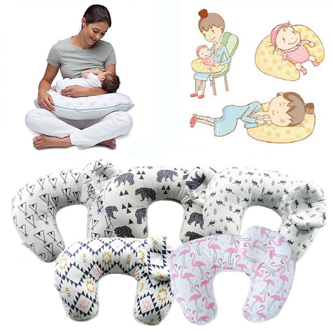 Baby Nursing Pillows -  Cuddle U-Shaped - hushabyebaby-co-uk
