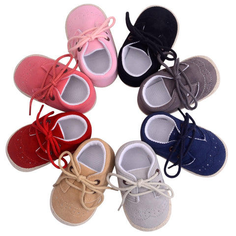 Nubuck Leather Moccasins Soft Footwear Baby Shoes - Hushabyebaby.co.uk