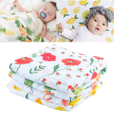 Summer Unisex Baby Blanket/Swaddle For Newborns - Hushabyebaby.co.uk