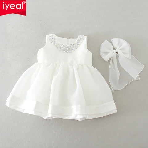 Newborn Baby Girl's  Dress suitable for weddings and christening - hushabyebaby-co-uk