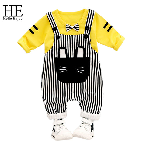 Baby Boy or Girl's Striped Overall Set (6-24 months) - Hushabyebaby.co.uk