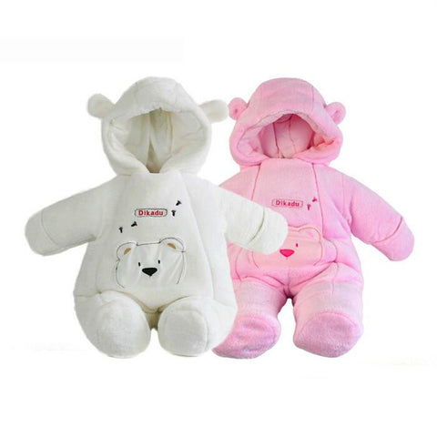 Winter jumpsuits  for baby girls or boys (3-18 months) - hushabyebaby-co-uk.myshopify.com