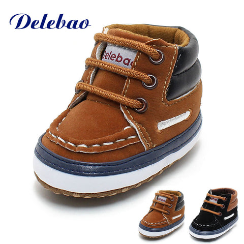 Delebao  Baby Boy/Girl Shoes - Hushabyebaby.co.uk