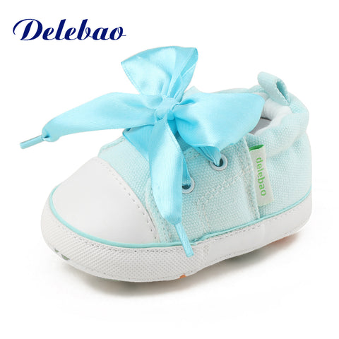 Lace-up Soft Sole  Baby Shoes  Girl/Boy - High Quality - Hushabyebaby.co.uk