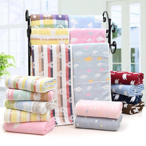 Six Layers Of Baby Blankets For Newborn Babies - Hushabyebaby.co.uk
