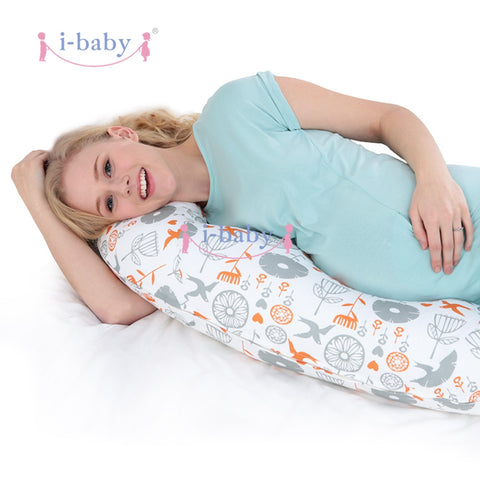 Full Body Pregnancy Pillow - hushabyebaby-co-uk