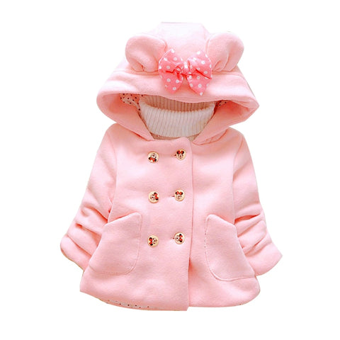 Baby Girl's Coat - hushabyebaby-co-uk