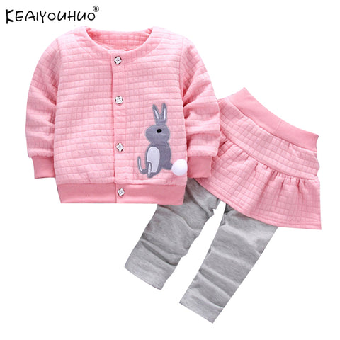 Autumn / Winter Two Piece Baby Girl Clothes Sets (0-24 months) - hushabyebaby-co-uk