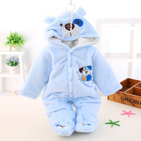 Newborn Winter Baby Rompers Boy/Girl - hushabyebaby-co-uk.myshopify.com