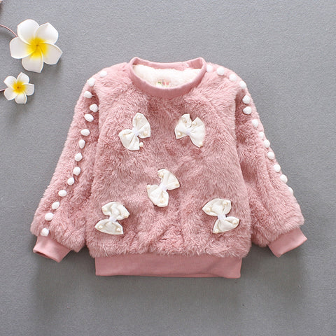 Winter sweater for girls (9 months - 3 years) - hushabyebaby-co-uk