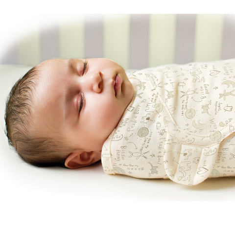 Newborn Baby Swaddle Wrap  100% Cotton - Hushabyebaby.co.uk